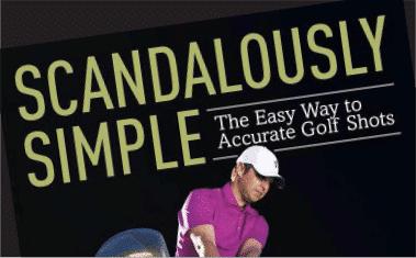 author mark immelman scandalously simple golf book cover