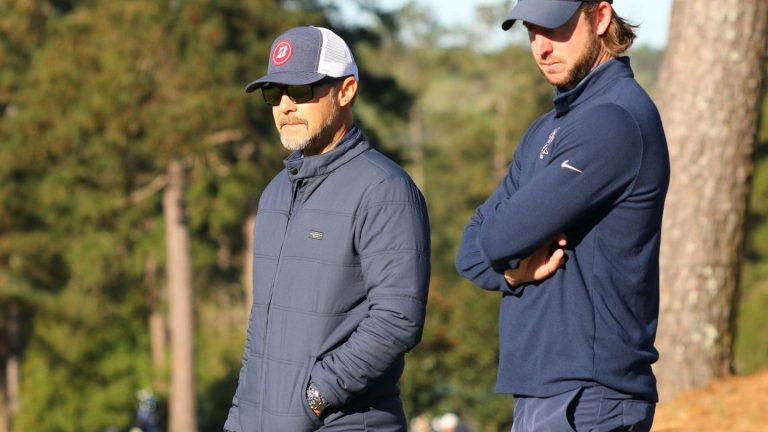 Mark Immelman coaching CSU golf